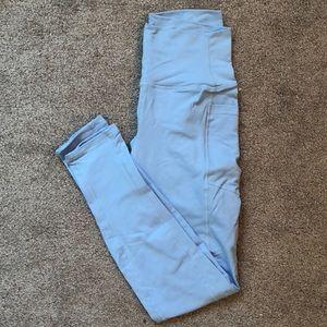 Light blue Ethos leggings with side pockets